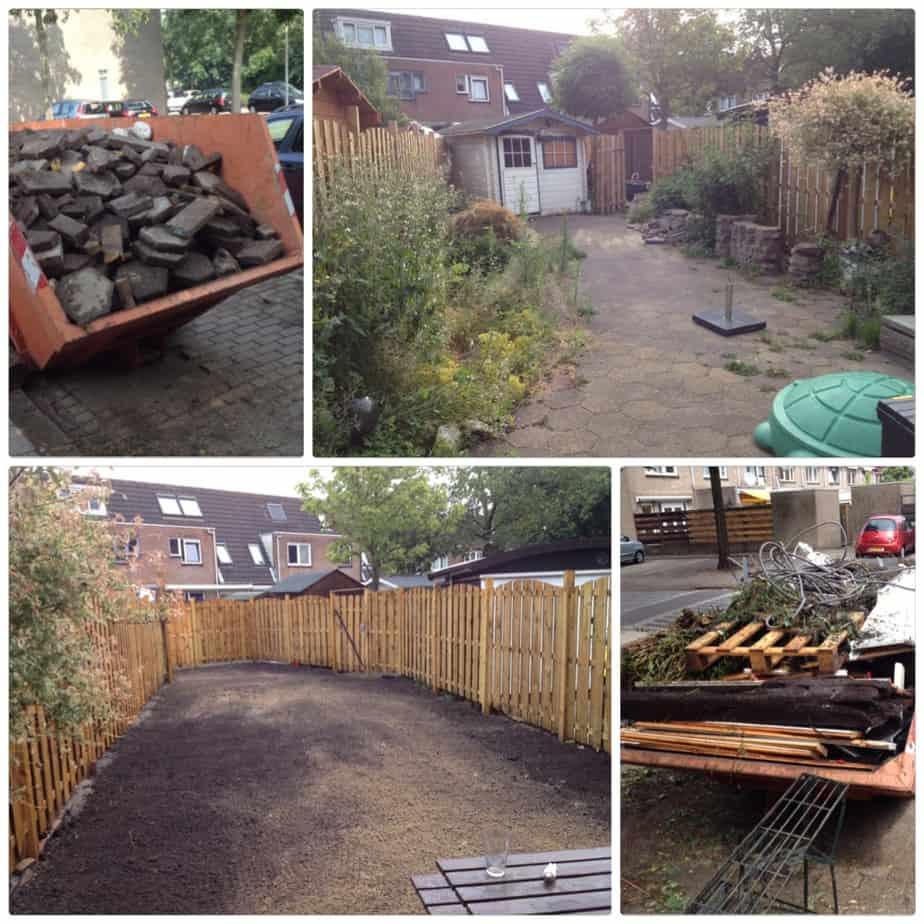 tuin afgraven schoffelstudent hoveniers betaalbaar