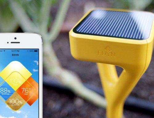 Slim tuinieren met de 'Edyn Garden Sensor & Water Valve'