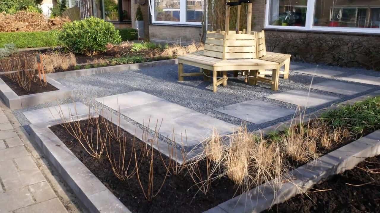 Tuin Aanleggen Voorbeelden : Voortuin aanleggen zo pakt u de aanleg van de voortuin aan