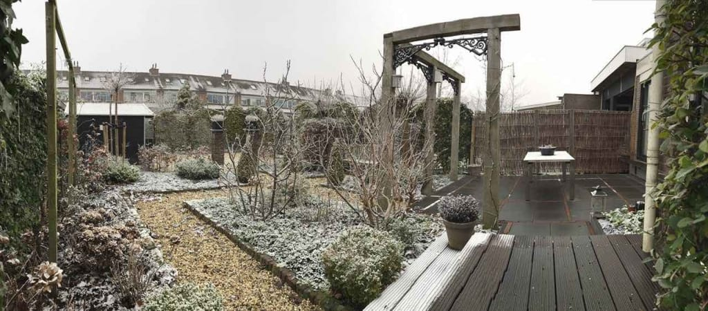 Aanleg achtertuin in Gouda
