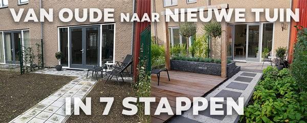 Nieuwe tuin in 7 stappen