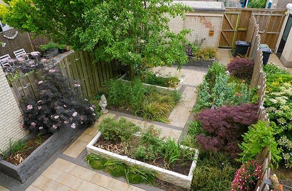 Tuin Aanleggen Voorbeelden : Voorbeeldtuin inspiratie voorbeeldtuinen en tips voor je nieuwe tuin
