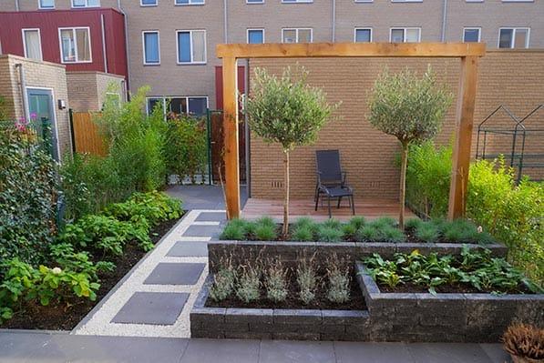Aanleg tuin in nieuwbouwwijk of nieuwbouwwoning