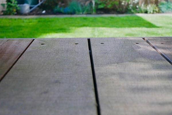 Betere Hardhouten vlonder en bestrating aanleggen in deze schitterende tuin! XI-07