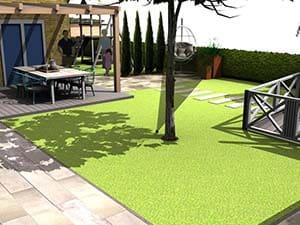 3D tuinontwerp in Utrecht
