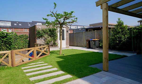 moderne tuin voorbeelden