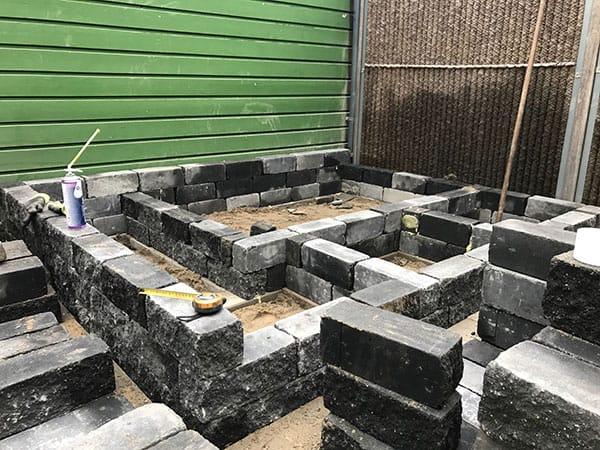 Tuinrenovatie met nieuwe border
