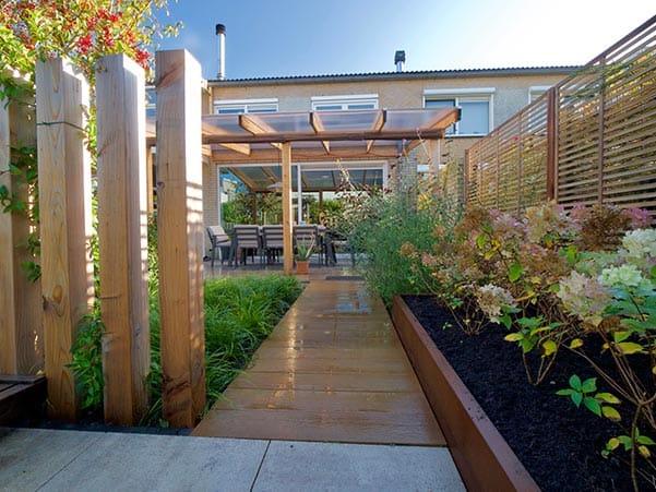 Onderhoudsvriendelijke tuin voorbeeld