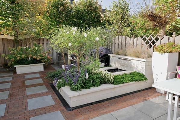 Drainage in tuin